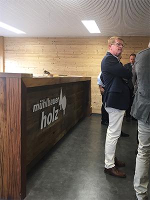 Besuch beim VEH Mitglied Mühlbauer Holz