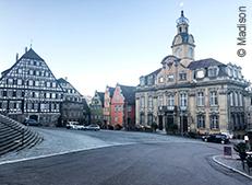 Schaebisch Hall als Ort der Generalversammlung des VEH 2018